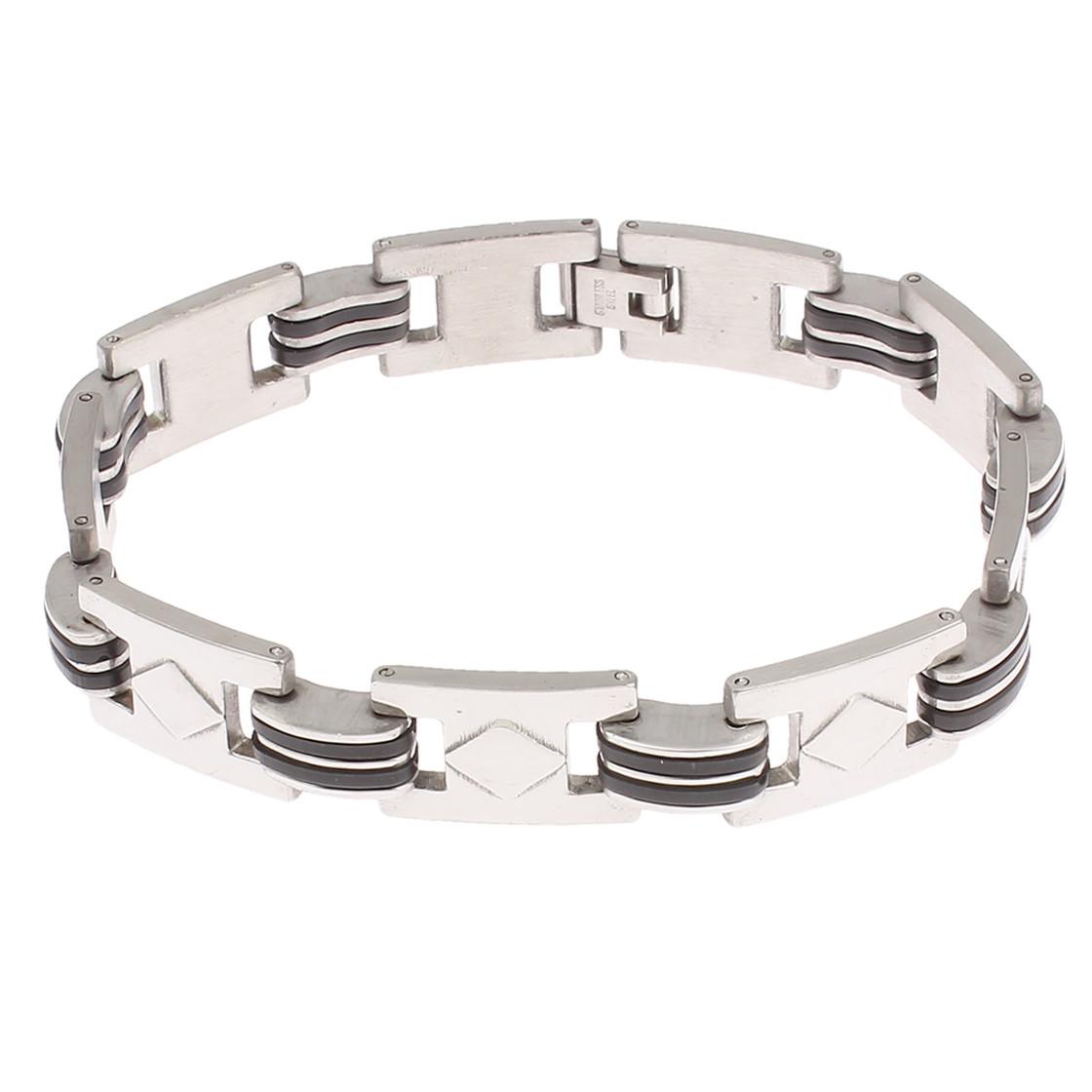"Damen Design /""Fantasyarmband/"" Armband Silberfarben Edelstahl"